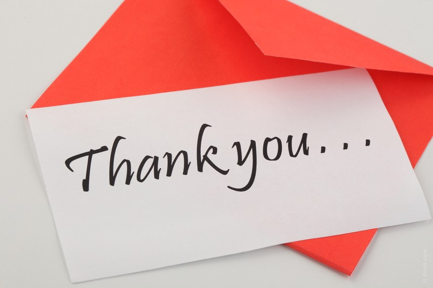 Our only regret this year: we didn't say 'thank you' enough