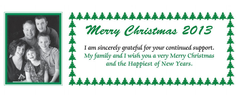 Proud to know you — Merry Christmas & Happy New Year