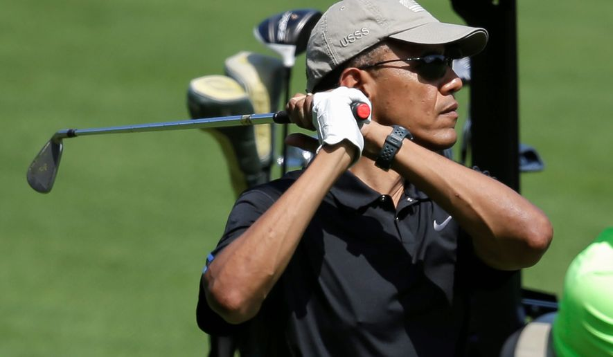 "WOW! — ""Obama's one achievement — out golfing Tiger Woods"""