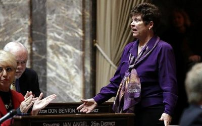 Senator Pam Roach's victory on Tuesday — nothing short of remarkable