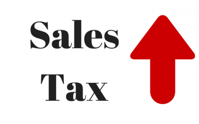 """Massive sales tax hike pushed by Democrats in 2015 — """"should we raise it to 11% or 12%?"""""""