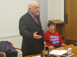 Our fiercest advocates in Olympia for the citizens' initiative process: Senators Roach & Benton