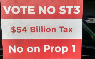 Voting No on ST3 helps stop push for state income tax