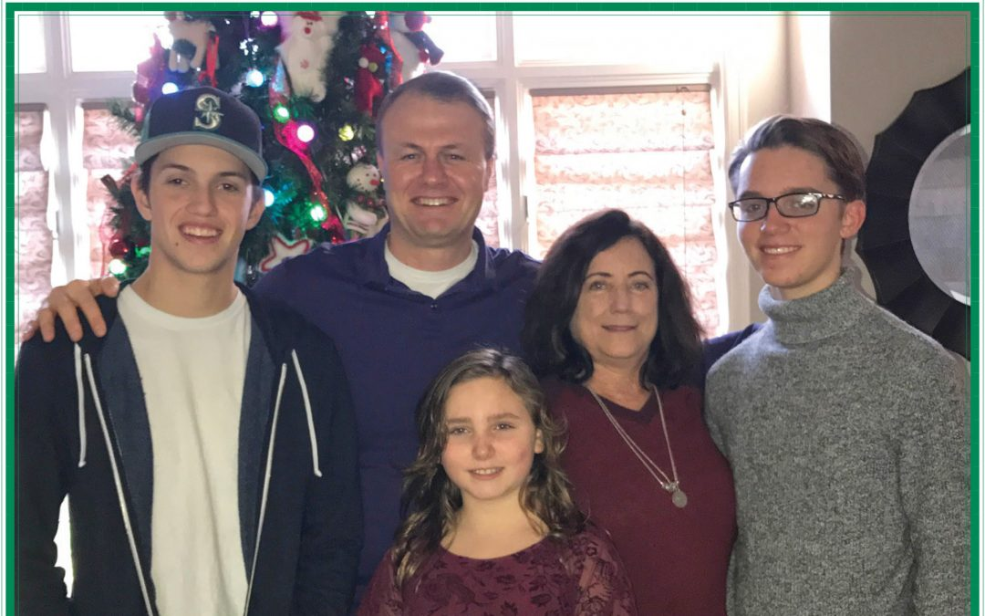 Christmas card from Tim — incredibly proud of what we've accomplished together