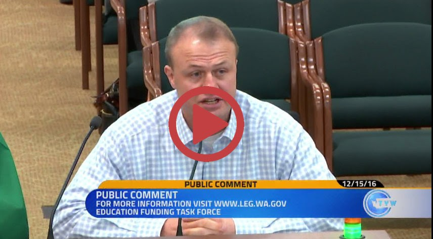 Eyman rips Inslee's $5.2 billion tax increase at Olympia hearing