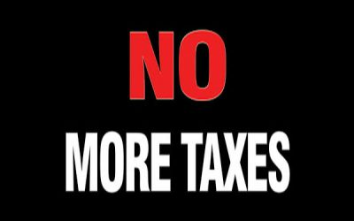 "Tell legislators ""NO MORE TAXES"" because Sound Transit's $54 billion took it all"