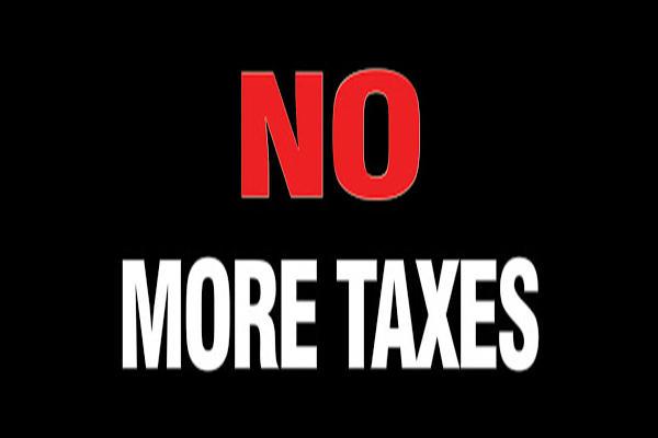 "Tell legislators ""NO MORE TAXES"" because Sound Transit's $54 billion took it all"