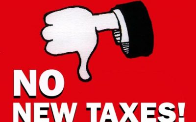 Tell Senate Republicans you support their no-new-taxes position