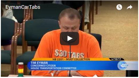 WATCH VIDEO: Car tab tax rip-off continues under Democrats' pretend plan