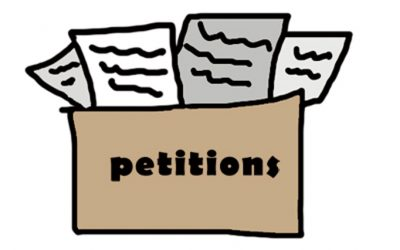 35 heroic supporters asked me to help them get petitions — we need many more to do so