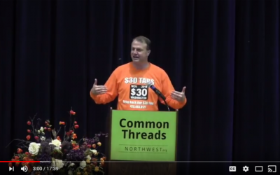 I want your reaction to my speech in Bellingham — biggest crowd I ever had