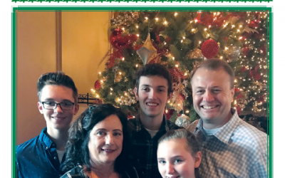 It's Tim's 52nd birthday today — here's Christmas card from my family to yours