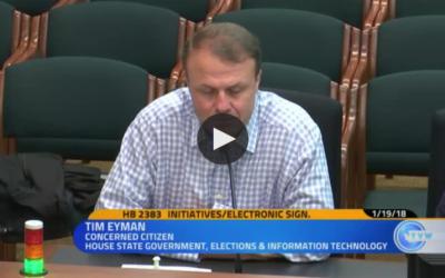 """There's a different anti-initiative bill — tell legislators: """"Knock it off!"""""""