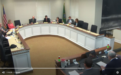 """VIDEO: Initiative opponents thank """"Republican"""" Joyce McDonald for sponsoring their bill"""