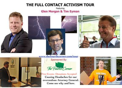 Biggest rush I've had in years: recapping our 2 week Full Contact Activism Tour