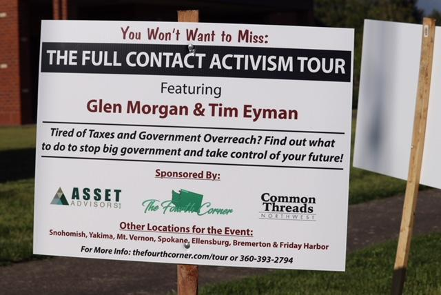 FULL CONTACT ACTIVISM TOUR: here's some pics and a video