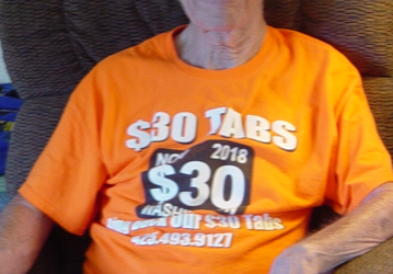 THIS SHOULD INSPIRE EVERYONE:  88 years young super-supporter Bob Henkel from Tacoma collected and turned in 6500+ signatures for $30 Tabs Initiative — did I mention this amazing, heroic man only has the use of one arm?