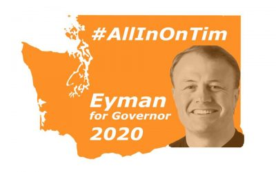 Today, Mon, 11am, Sec Of State's Office. Governor Tim Eyman For WA State. I Love You All.
