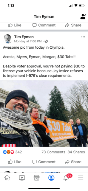 Join Me/Us In Olympia Fri, Jan 17, 9-12noon, I'm Speaking Approx 9:40am At Rally 4 UR Rights!!
