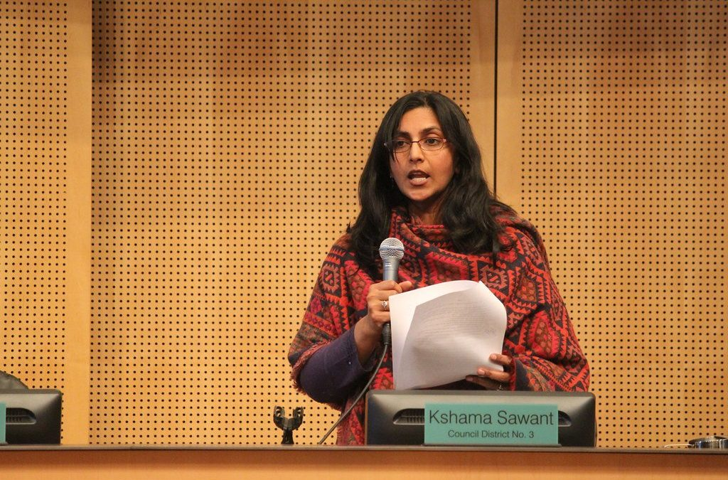 Seattle's favorite Socialist shows us what's coming. Kshama Sawant = Vulture. She's the first and will not be the last. It's why we must be on guard.