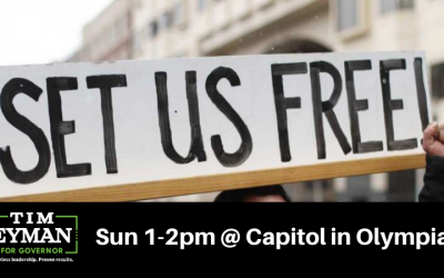 Join Us This Sun 1-2pm @ Capitol In Olympia: PROTESTING JAY INSLEE (6 Feet Apart)