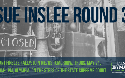 Join me/us tomorrow, Thurs, May 21, 11am-1pm, Olympia, on the steps of the state supreme court