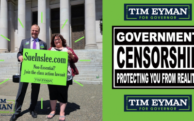 TWO HUGE VICTORIES: 1) OPEN SCHOOLS lawsuit 2) Kitsap County Auditor to stop government censorship