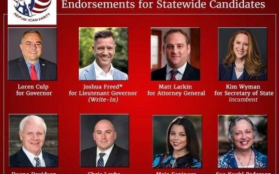 Easy choices for me: Loren Culp (Gov), Joshua Freed (write-in Lt Gov), Matt Larkin (AG), Kim Wyman (Sec of State), Duane Davidson (Treasurer), Chris Leyba (Auditor), Maia Espinoza (Superintendent of Public Instruction), Sue Kuehl Pederson (Public Lands Commissioner)