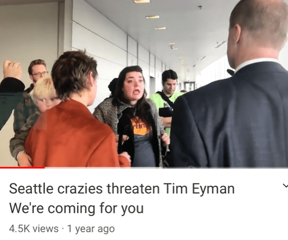 """Seattle Crazies Tell Me: """"We're Coming For You"""" — Check Out These Pics And Short Video"""
