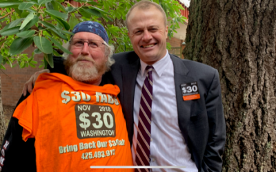Great People At $30 Tabs Rally. New Eyman Lawsuit Filed To Protect Our $30 Tabs Vote!