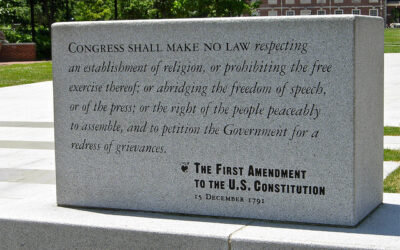 This Wednesday, will my 1st Amendment rights survive?