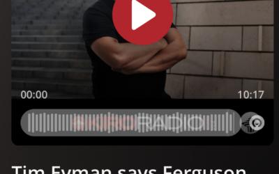 Listen to KIRO's Dori Monson ask me about Fascist Fergie's lawsuit